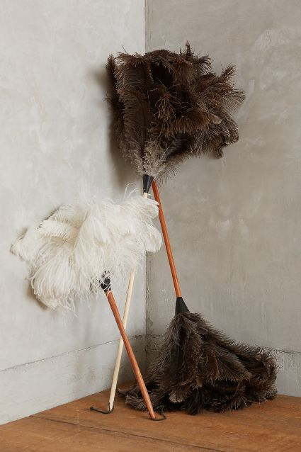 Ostrich Feather Duster - anthropologie.com