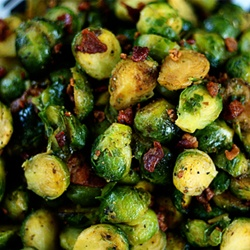 Brussel sprout recipes galore! Even my boyfriend likes these :)