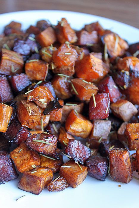 The BEST Roasted Sweet Potatoes ever!