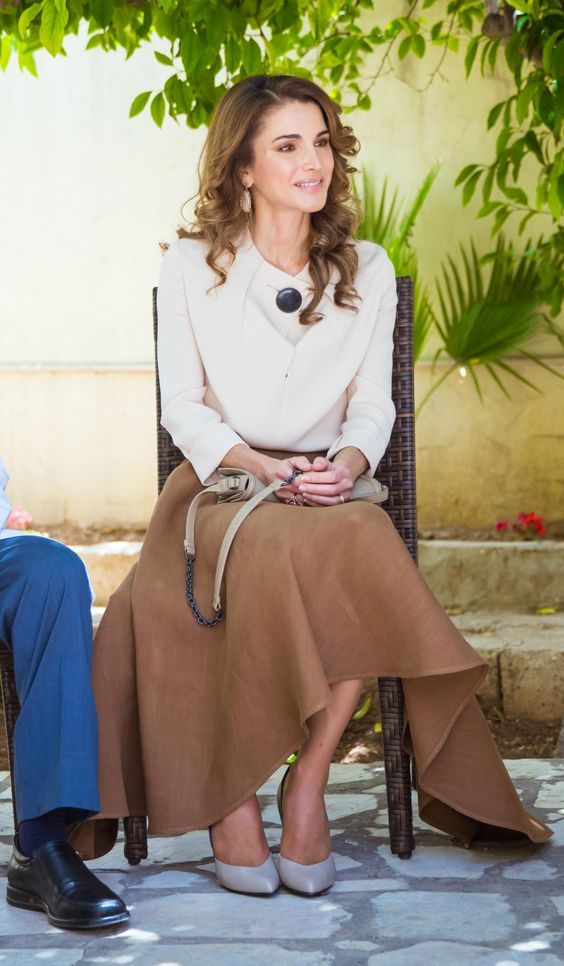 Inspiração by rainha Rania da Jordânia