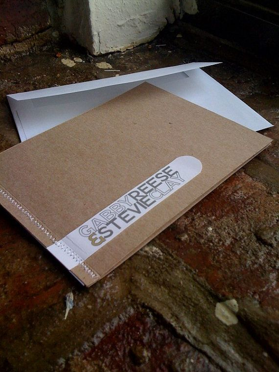 haha - copycats! Sewn Wedding Invitations Booklet with rsvp by 2beUdesign on Etsy, $8.00