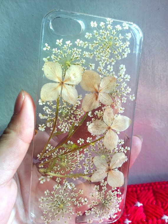 Pressed flowers iphone 5 case iphone 5s case clear by Daisydiycase, $12.99