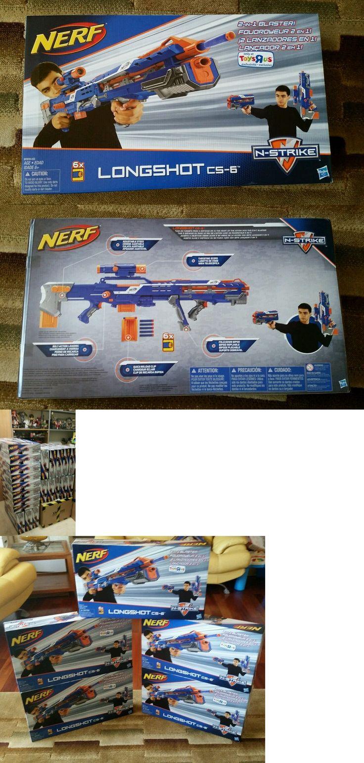 Dart Guns and Soft Darts 158749: Nerf Longshot Cs-6 Blaster N-Strike Blue W Scope Brand New Sealed! Rare! -> BUY IT NOW ONLY: $69.95 on eBay! http://riflescopescenter.com/rifle-scope-reviews/