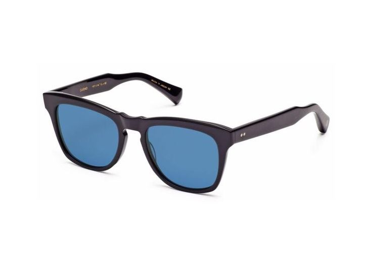 Dita Cuidad square-frame blue mirrored sunglasses on sale