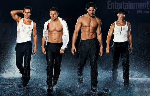 "Eye Candy Alert: The Shirtless Men of ""Magic Mike"" (BONUS: Watch Channing Tatum Make It Clap!) 