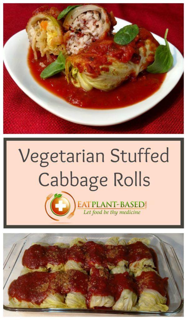 Best 25+ Vegetarian Cabbage Rolls ideas on Pinterest ...