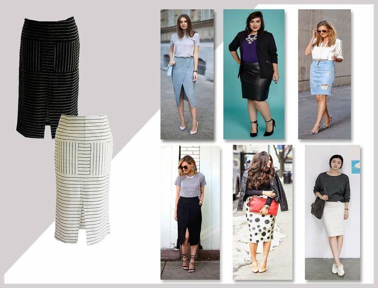 A saia lápis é um a peça clássica, sensual, feminina e elegante. Possui shape ajustado ao corpo e afunila quando chega próximo a altura dos joelhos. Indispensável no guarda-roupa de qualquer mulher, vai de ambientes casuais aos sofisticados.    Tenha também um look super poderoso, acesse:   savestyle.com.br/roupas_femininas/saia  #savestyle #trendurban #skirt #ootd #ootn #saialapis #outonoinverno