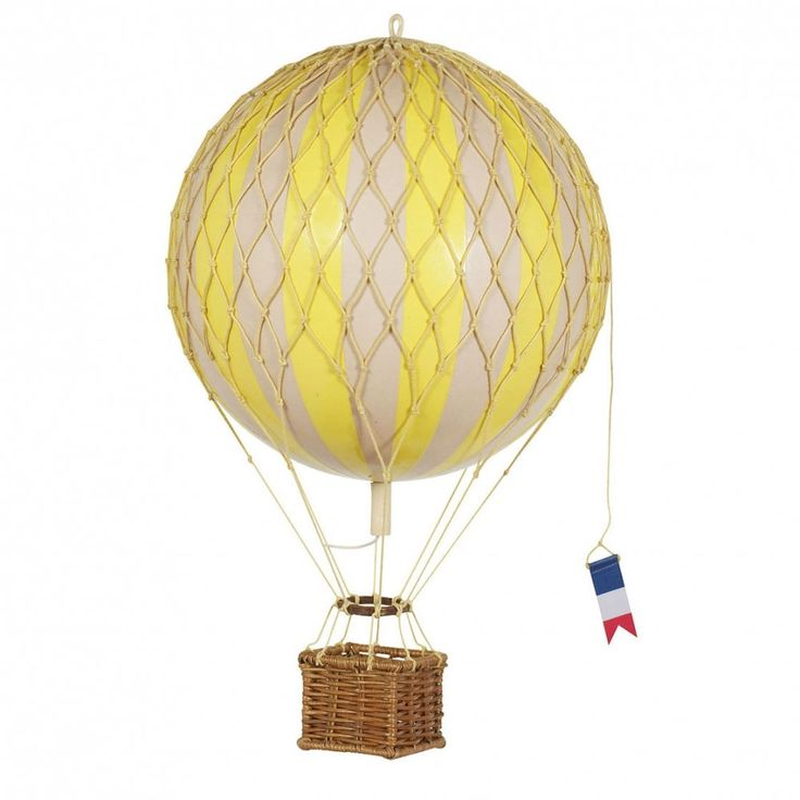 Authentic Models Luftballon gul 18cm