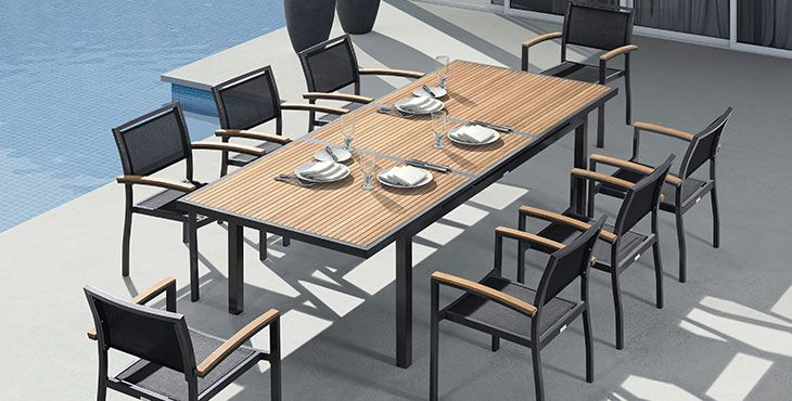 Conoce los 5 mejores muebles para terrazas exteriores | Comedor ...