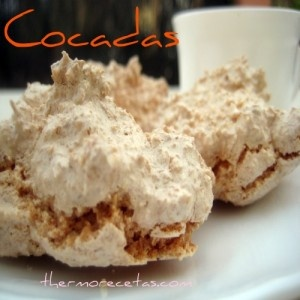 Merengues de Coco Thermomix