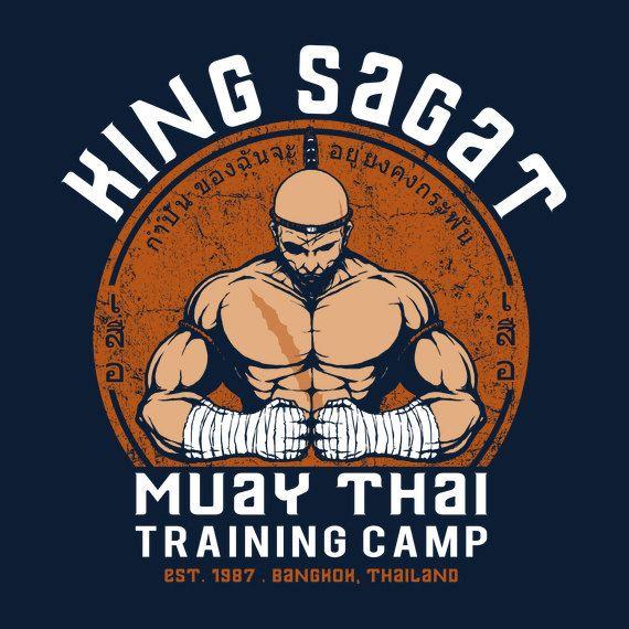 Muay Thai Camp - Street Fighter Sagat T-Shirt