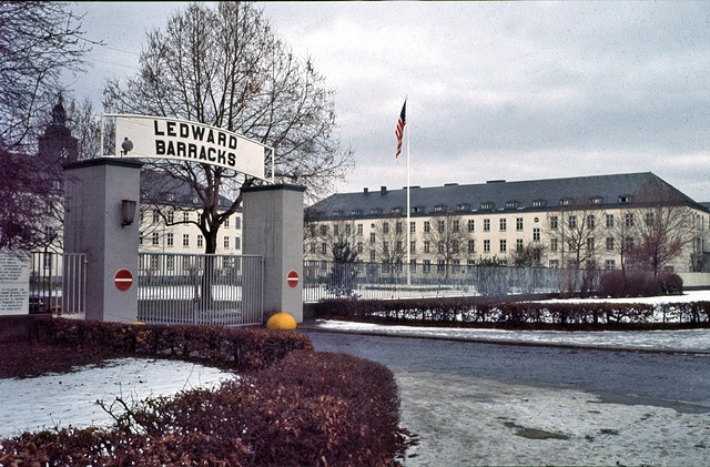 Schweinfurt, Germany. The American barracks - sadly, those guys are going home now...