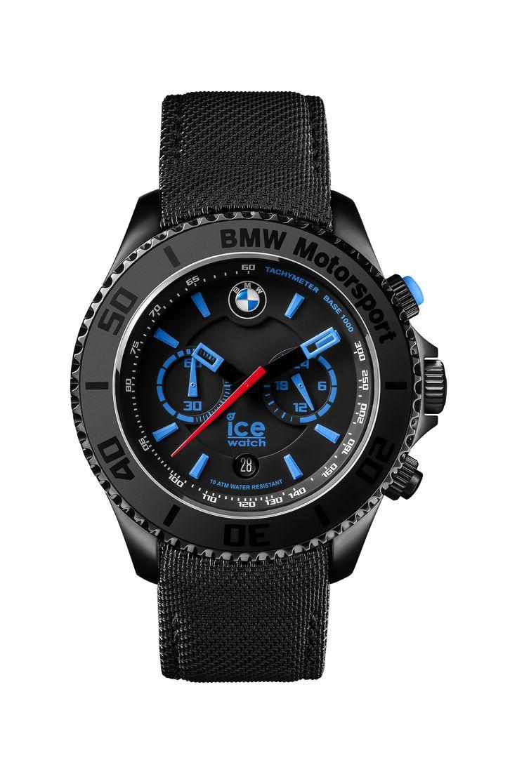 Need a beautiful watch? Look at BMW Motorsport steel - Black - Chrono. Shop it for 249€ or £192 on Ice-Watch Official Webstore: https://www.ice-watch.com/be-en/icetime/bmw-motorsport-steel-p-26699.htm?coul_att_detailID=180&utm_source=SOC_Pinterest&utm_medium=Post&utm_content=Product&utm_campaign=2015-11-12_Product-Pinterest-ALL_ALL