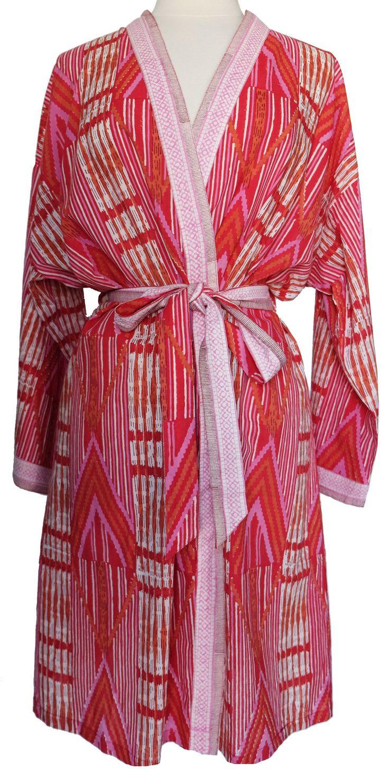 Short Kimono - Navaho Red - free size