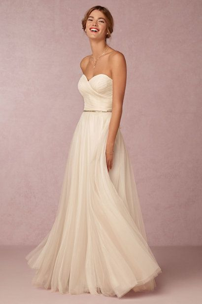 BHLDN Calla Gown in  Bride at BHLDN
