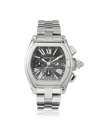 Cartier Men's Roadster Black Stainless Steel Watch