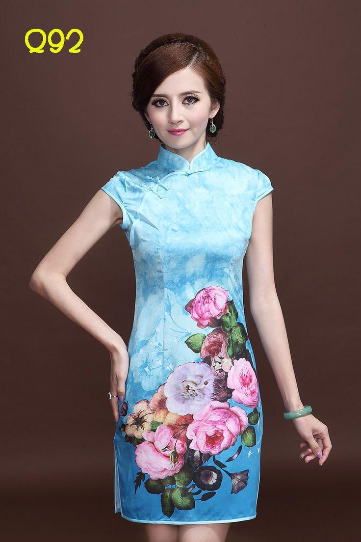 35 best Chinese Qipao Cheongsam Dress images on Pinterest ...