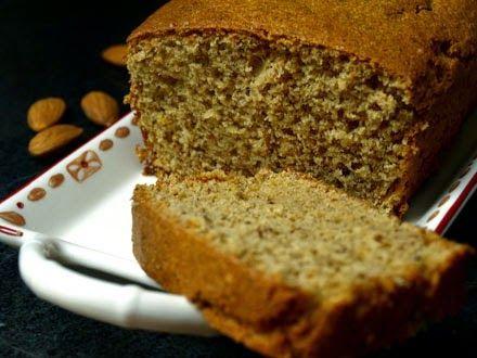 Cake à l'amande sans gluten et sans lactose