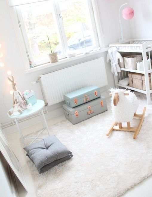 Beautiful pastel nursery