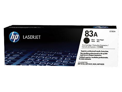 HP Black LaserJet Toner Cartridge 83A [CF283A]