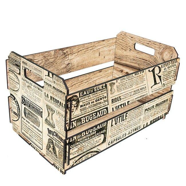 Las 25 mejores ideas sobre cajas de madera decoradas en - Cajas de fresas decoradas paso a paso ...