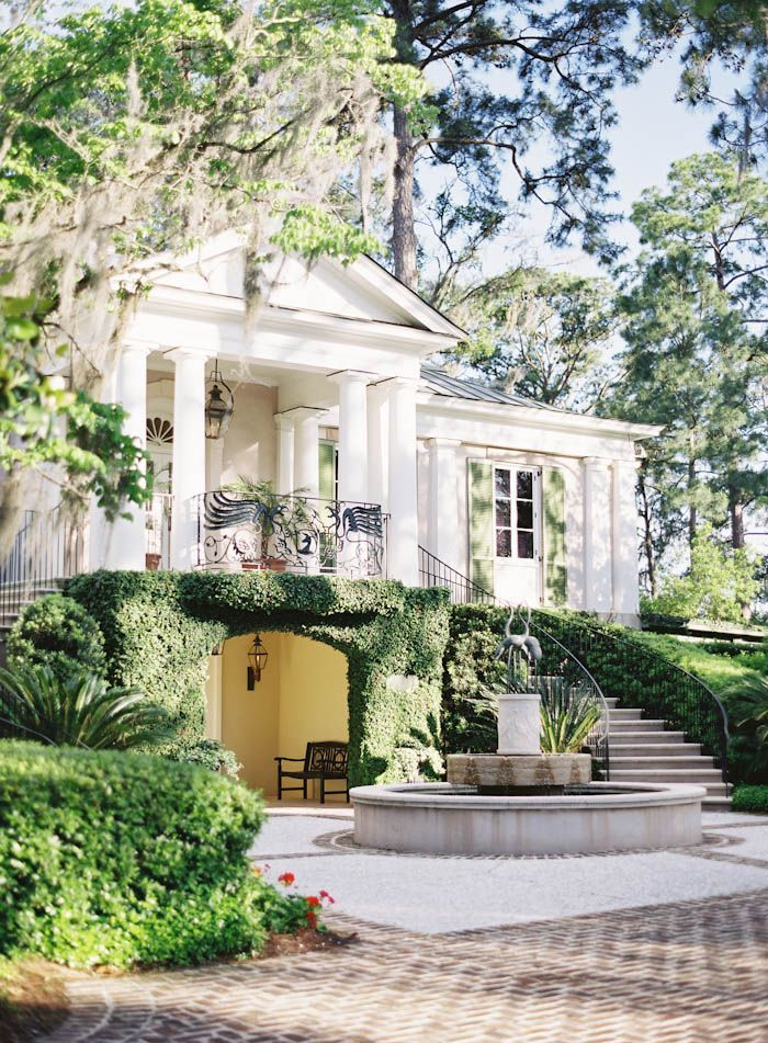 Beautiful georgian revival architecture classical for South carolina home builders