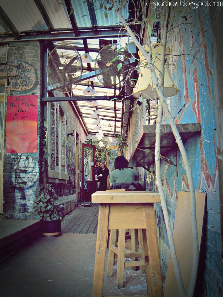 Sappho Cafe at Glebe