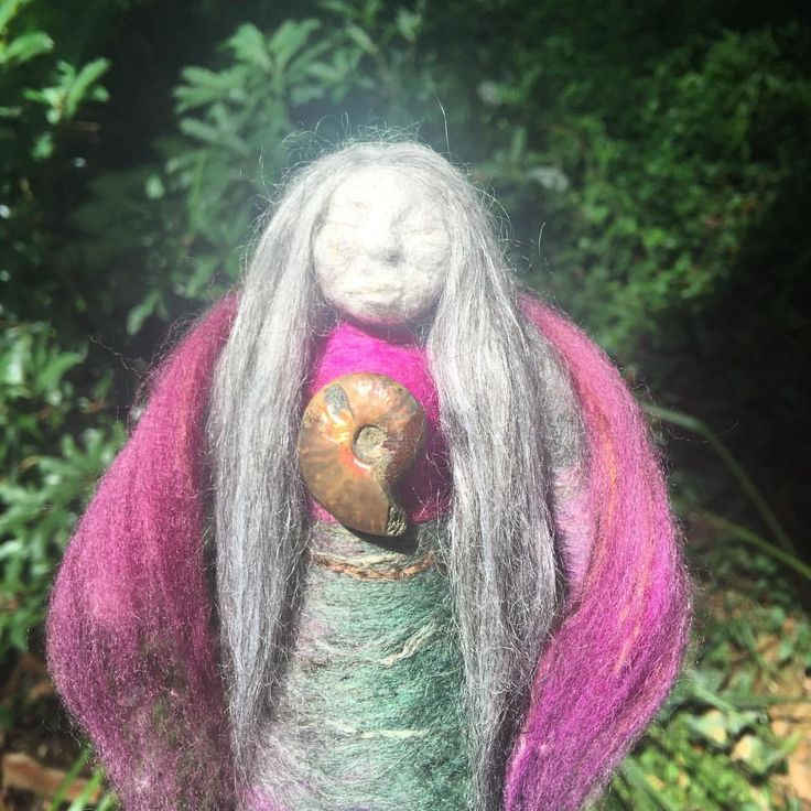 Sacred Familiar Medicine Doll - She Sees the Sea