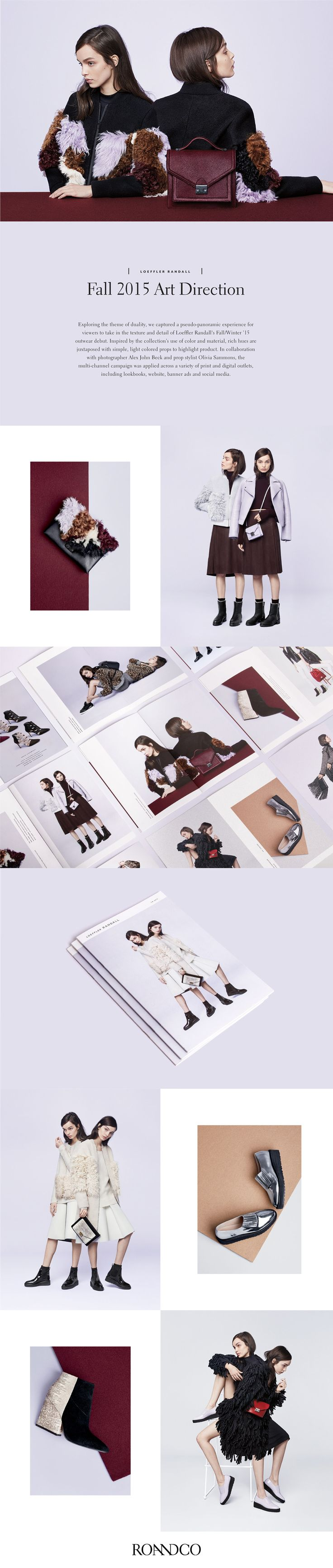 Loeffler Randall FW '15 Art Direction on Behance