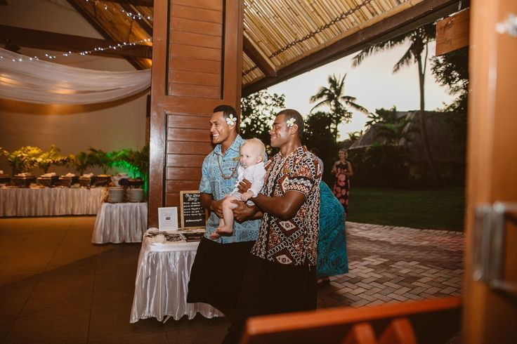 Outrigger Fiji Beach Resort Wedding Ideas Planning Inspiration Tropical Paradise Style Floral Design Planning Photography Children Ceremony Hosts Reception Chapel Setting Wooden Traditional Cultural Fijian