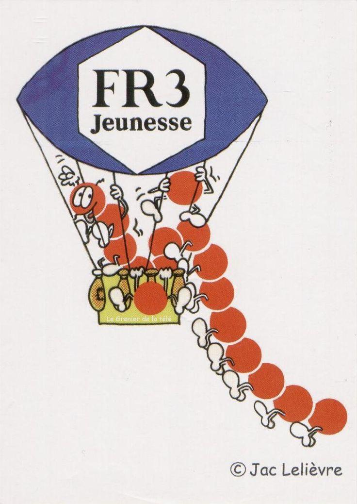 Le mille-pattes de FR3 - Années 70 et 80