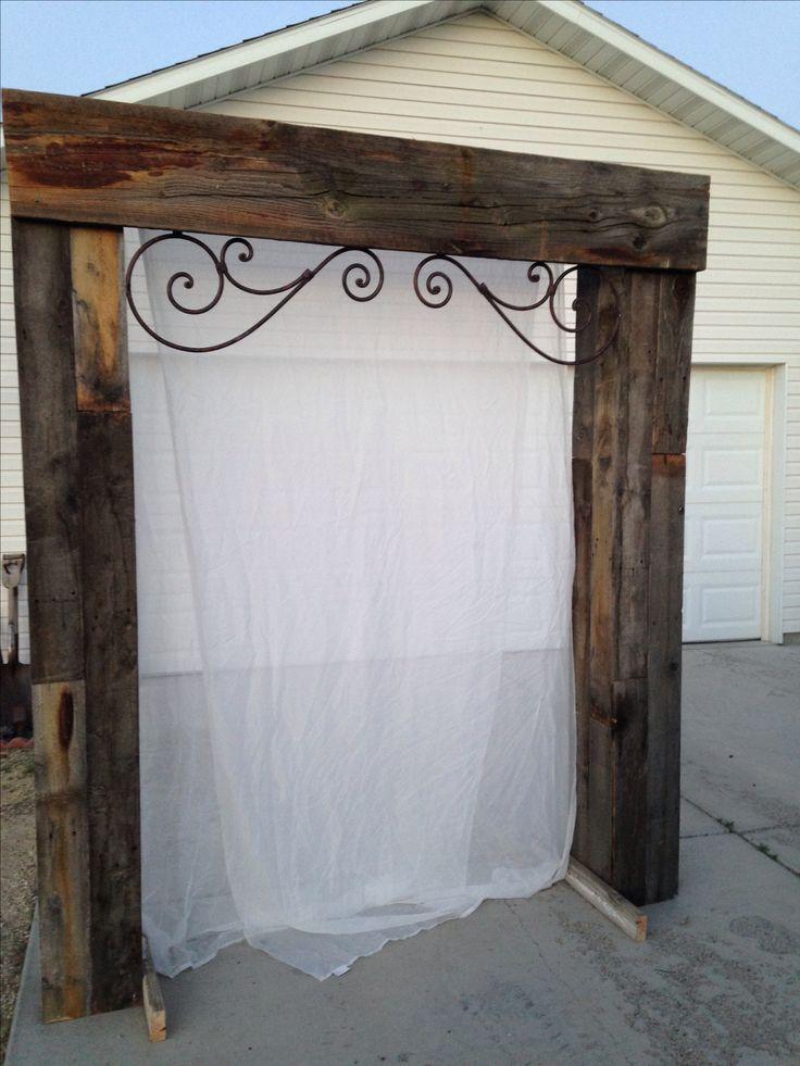 Best 25+ Wood wedding arches ideas on Pinterest | Wood arch ...