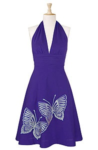 another great summer dress. also comes in a fab green, as well as yellow and pink. (and they can tailor it to your size!)Blouses, Butterflies Halter, Style Dreams, Clothing Ships, Shops Stylish, Halter Shops, Shops Women, 0 36W, The Roller Coasters