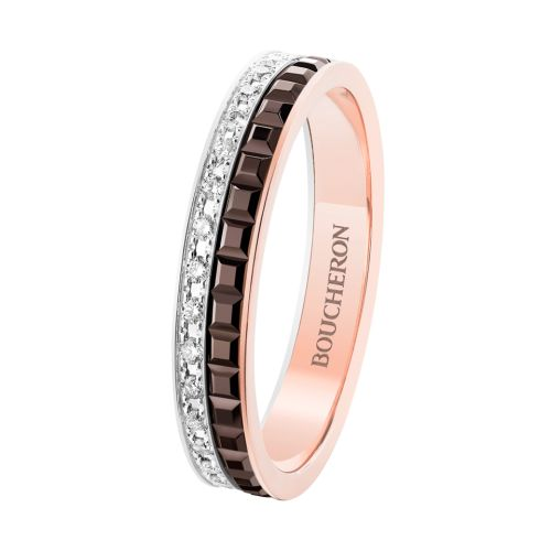 Quatre Classique wedding band