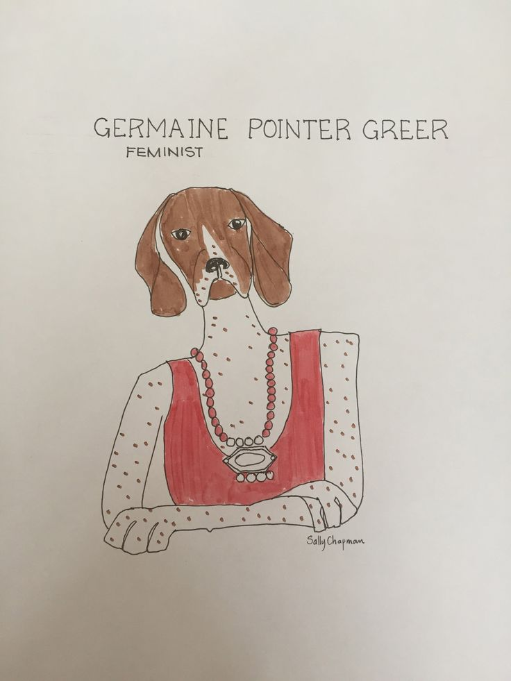 famous dog series germaine Greer