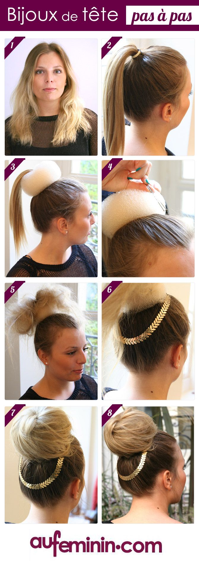 Bien connu Plus de 25 idées magnifiques dans la catégorie Donut cheveux sur  WG22