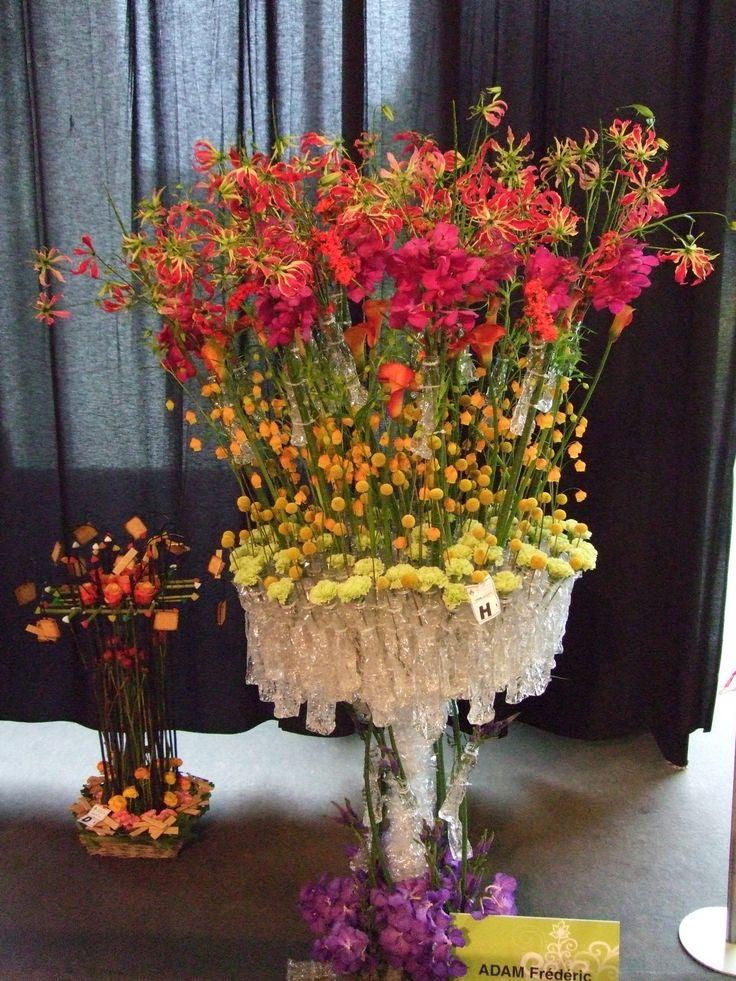 Coupe de France d'Art Floral - participation de Shopping Flor - Nice