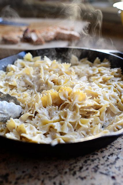 Bow Tie Skillet Alfredo Ree Drummond Food Network Recipes From