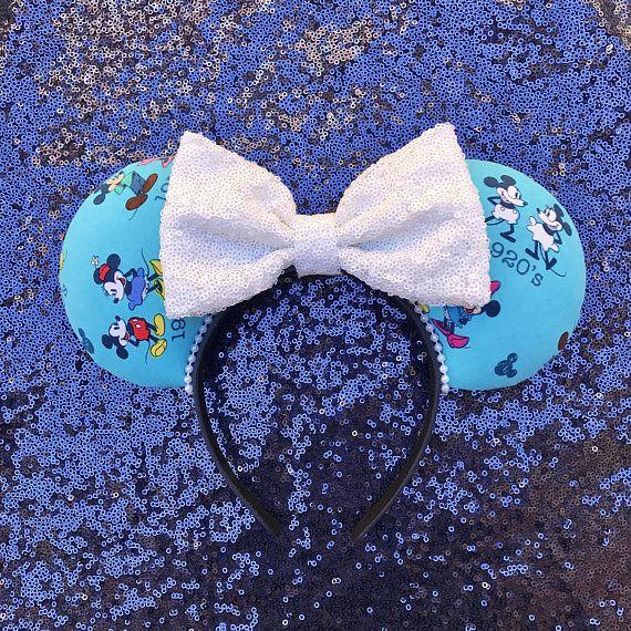 Dynamic Duo Ears Minnie and Mickey Ears Disney Ears