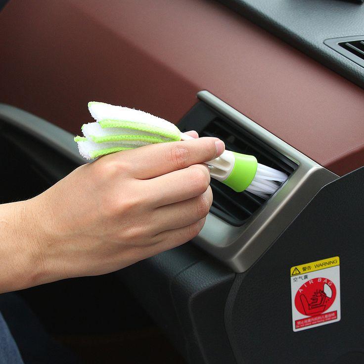 Car Accessiores Clean Brush Dusting Tools for VOLVO V60 XC60 XC90 Lifan X60 320 KIA Rio Sportage KX5
