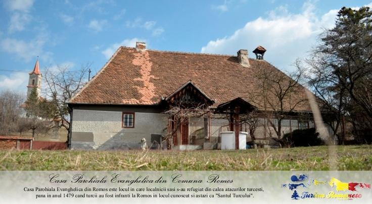 Casa Parohiala Evanghelica din Comuna Romos, Judet Hunedoara