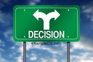 It is very often the people who make fewer but bigger decisions that tend to do better than those who are making a lot of decisions in the name of being busy