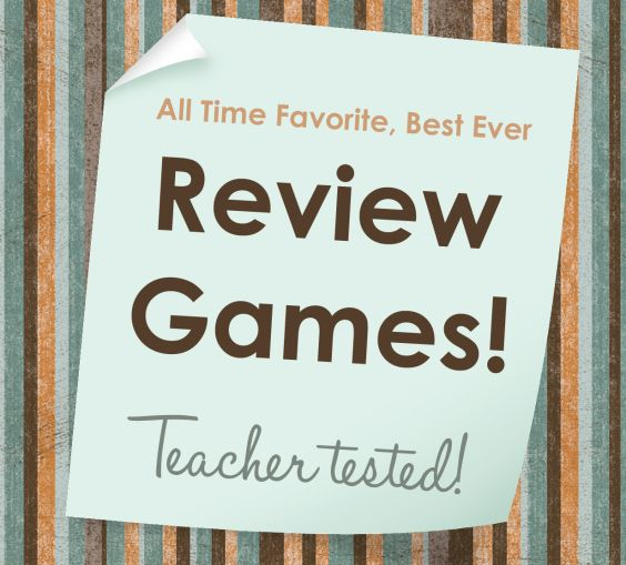 Best Ever Games to Review in Any Content Area