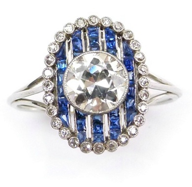 319 best rings art deco images on pinterest rings for Triple j fine jewelry