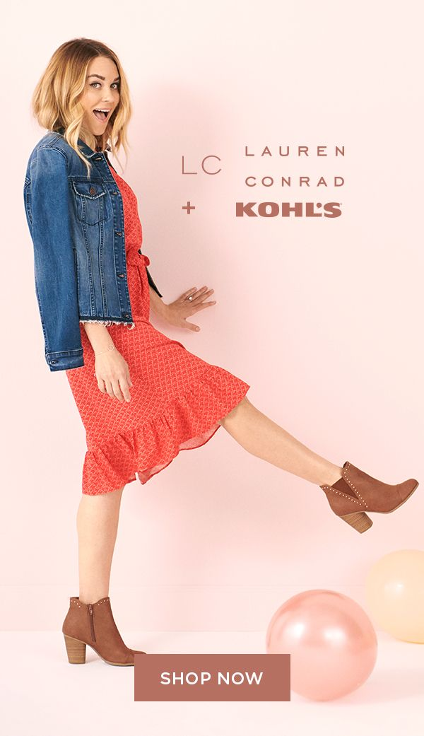 93a661413a8 Find your new look with LC Lauren Conrad at Kohl s. Whether you re shopping