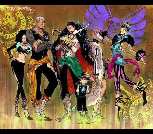 Baroque Works One Piece