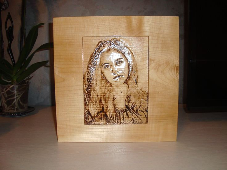 Wood portrait