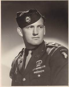 """Lynn D. """"Buck"""" Compton, leader of the 2nd Platoon of Easy Company, 506th Parachute Infantry Regiment, 101st Airborne Division, died on February 26, 2012 at the age of 90."""