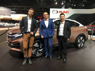 Alexander Suvorov: GAC EnSpirit concept(Detroit 2017)