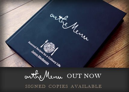 The Pipe and Glass Inn - Ist Cookbook by Michelin chef, James Mackenzie.